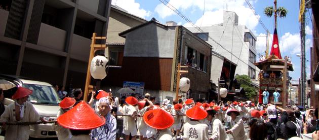 京都祇園祭山鉾巡行の写真1