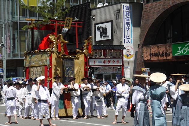 八幡山 祇園祭