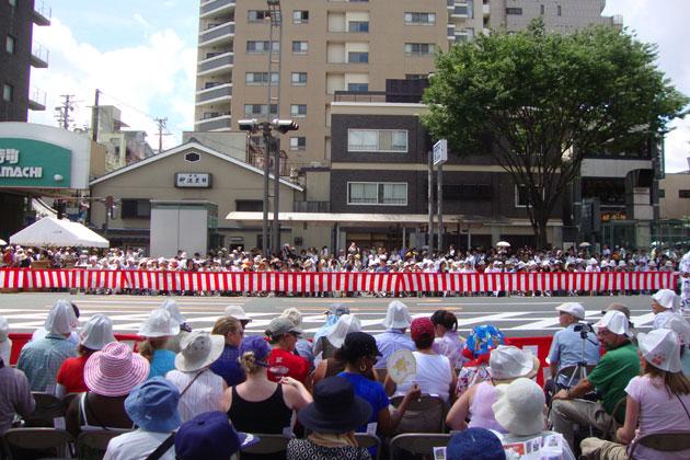 祇園祭の有料観覧席
